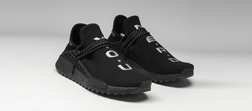 N.E.R.D. x adidas NMD Hu Trail Black is Now Available - Fastsole