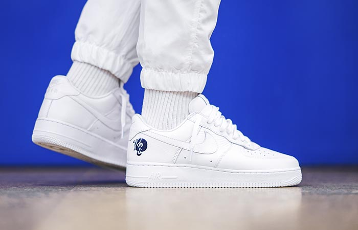 timeless design 296be eef8b ... Nike Air Force 1 07 Rocafella White AO1070-101 Buy New Sneakers  Trainers FOR Man ...