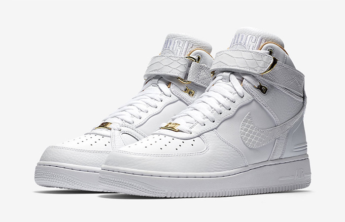 Nike Air Force 1 Hi Just Don White Official Look Feature AO1074-100