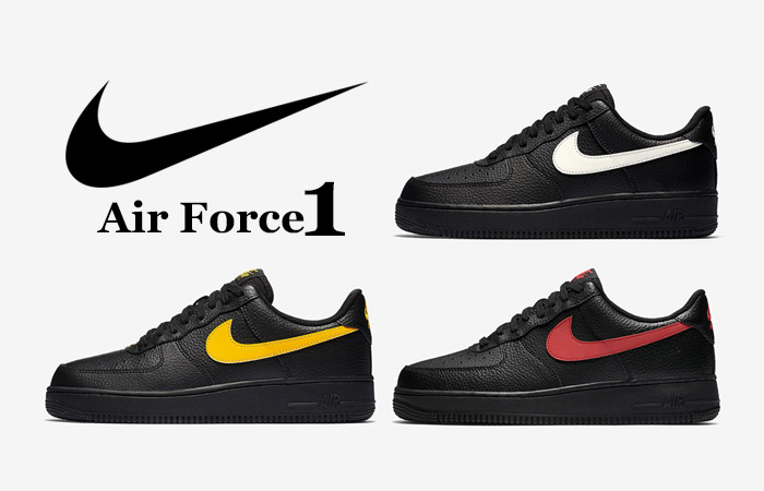Nike Air Force 1 Low Black Leather Pack