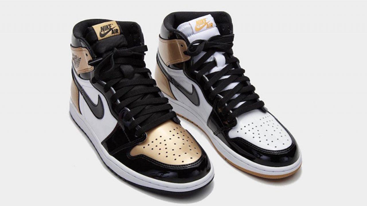 Nike Air Jordan 1 High OG Gold Top-3