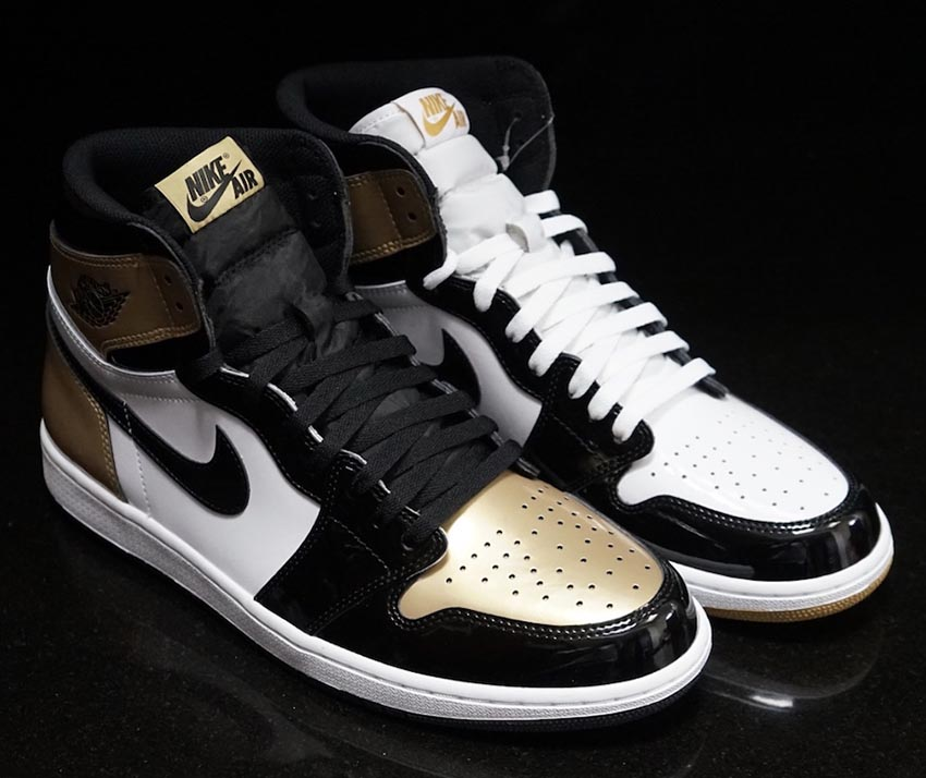 29d5b31e3ddd Nike Air Jordan 1 High OG Gold Top-3 Release Date Buy New Sneakers Trainers