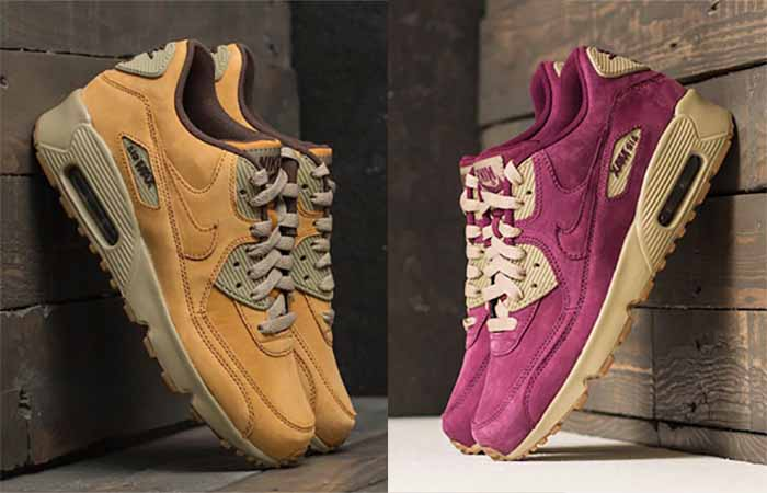 Nike Air Max 90 Winter Pack 2017 Live at FootShop Buy New Sneakers Trainers FOR Man Women in United Kingdom UK Europe EU Germany DE Sneaker Release Date FT