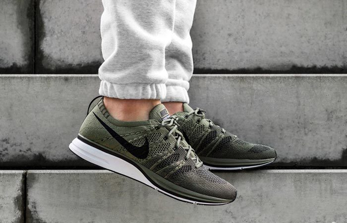 Nike Flyknit Trainer Olive AH8396-200 Buy New Sneakers Trainers FOR Man Women in United Kingdom UK Europe EU Germany DE 01