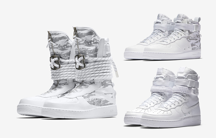 Nike SF-AF1 White Full Collection Release Date AA1130-100 FT