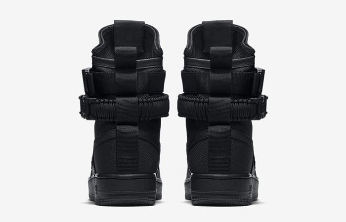 new styles 01a37 255bf Nike SF Air Force 1 Hi Triple Black 857872-002