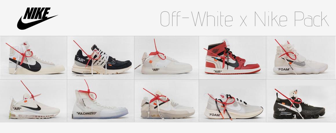 Off-White x Nike Pack