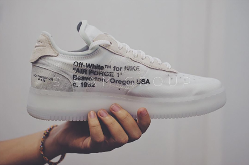 reputable site 77923 7f687 On Foot Look at the Off-White x Nike Air Force 1 Low White