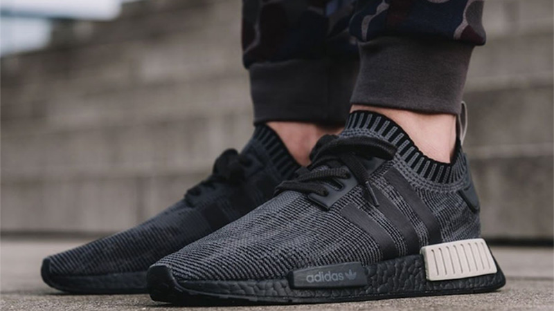 0c35909b0 Here is all you need to know about the adidas NMD R1 Black Glitch  Footlocker Exclusive which is the real swagger this holiday season! Coming  dressed in a ...