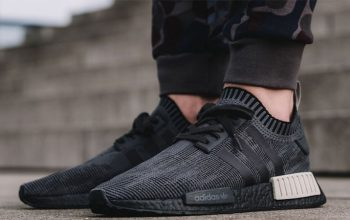 On-Foot Look at the new adidas NMD R1 Black Glitch Feature 01