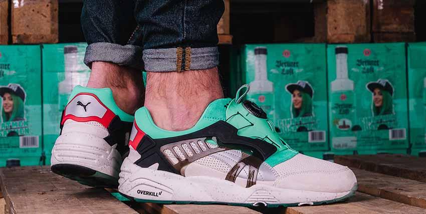 Overkill and PUMA Celebrated Berlin Booze Sneakers Trainers FOR Man Women in UK EU FR DE Sneaker Release Date 10