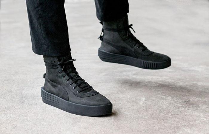 PUMA XO Parallerl The Weeknd Tripple Black 365039-02 Sneakers Trainers FOR Man Women in UK EU FR DE Sneaker Release Date 02