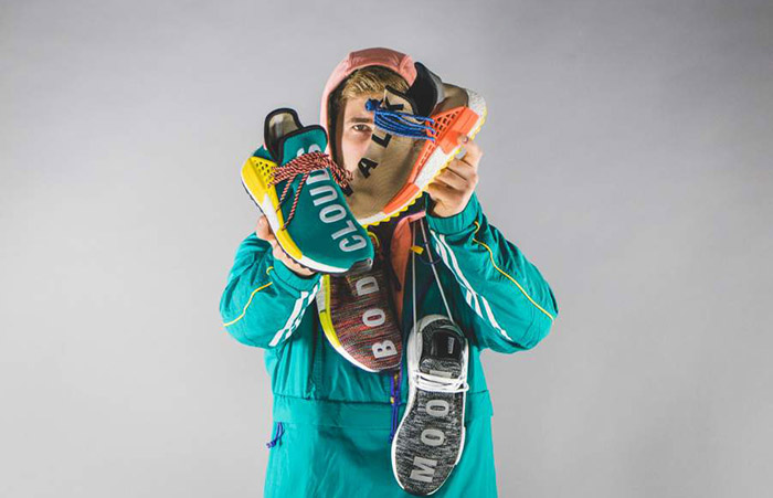 9fa663732 ... Pharrell Williams x adidas NMD Hu Trail Black AC7359 Buy New Sneakers  Trainers FOR Man Women ...