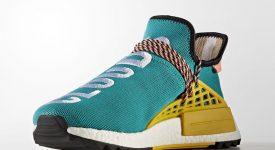 Pharrell Williams x adidas NMD Hu Trail Green AC7188 Buy New Sneakers Trainers FOR Man Women in UK Europe EU DE Sneaker Release Date 01