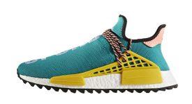 Pharrell Williams x adidas NMD Hu Trail Green AC7188 Buy New Sneakers Trainers FOR Man Women in UK Europe EU DE Sneaker Release Date 03