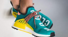 Pharrell Williams x adidas NMD Hu Trail Green AC7188 Buy New Sneakers Trainers FOR Man Women in UK Europe EU DE Sneaker Release Date 04