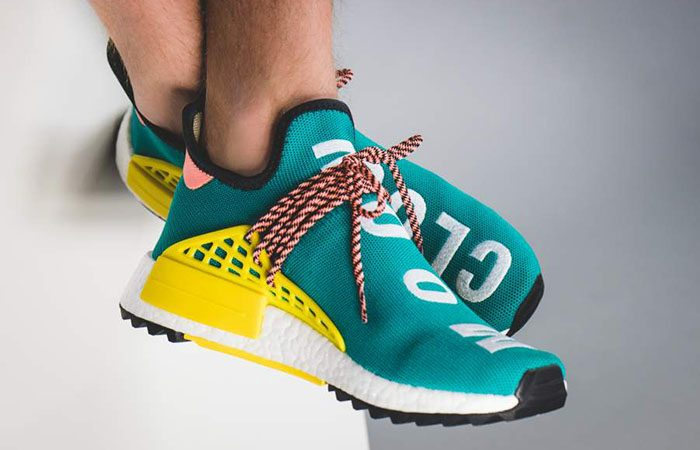 Adidas x Pharrell Williams NMD HU Trail (Sunglow, Black