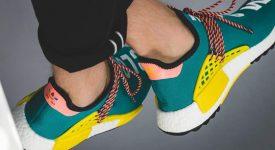 Pharrell Williams x adidas NMD Hu Trail Green AC7188 Buy New Sneakers Trainers FOR Man Women in UK Europe EU DE Sneaker Release Date 05