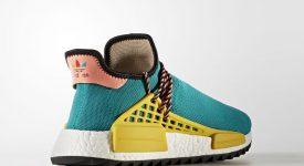 Pharrell Williams x adidas NMD Hu Trail Green AC7188 Buy New Sneakers Trainers FOR Man Women in UK Europe EU DE Sneaker Release Date 07