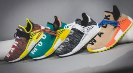 Pharrell Williams x adidas NMD Hu Trail Multi AC7360 Buy New Sneakers Trainers FOR Man Women in United Kingdom UK Europe EU Germany DE 01