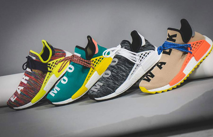 adidas NMD Hu Trail Multi Pharrell Williams AC7360