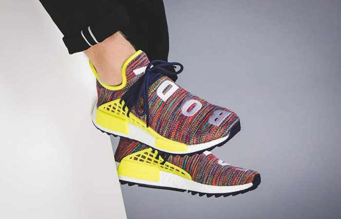 Pharrell Williams x adidas NMD Hu Trail Multi AC7360 Buy New Sneakers Trainers FOR Man Women in United Kingdom UK Europe EU Germany DE 05
