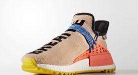 Pharrell Williams x adidas NMD Hu Trail Sun Glow AC7361 Buy New Sneakers Trainers FOR Man Women in UK Europe EU DE Sneaker Release Date 02