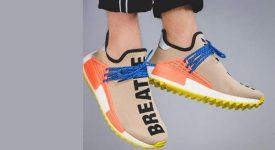 5a5aa0ffe2db Pharrell Williams x adidas NMD Hu Trail Sun Glow AC7361 Buy New Sneakers  Trainers FOR Man ...