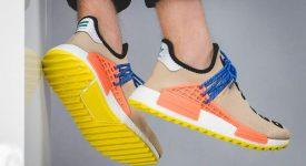 Pharrell Williams x adidas NMD Hu Trail Sun Glow AC7361 Buy New Sneakers Trainers FOR Man Women in UK Europe EU DE Sneaker Release Date 08