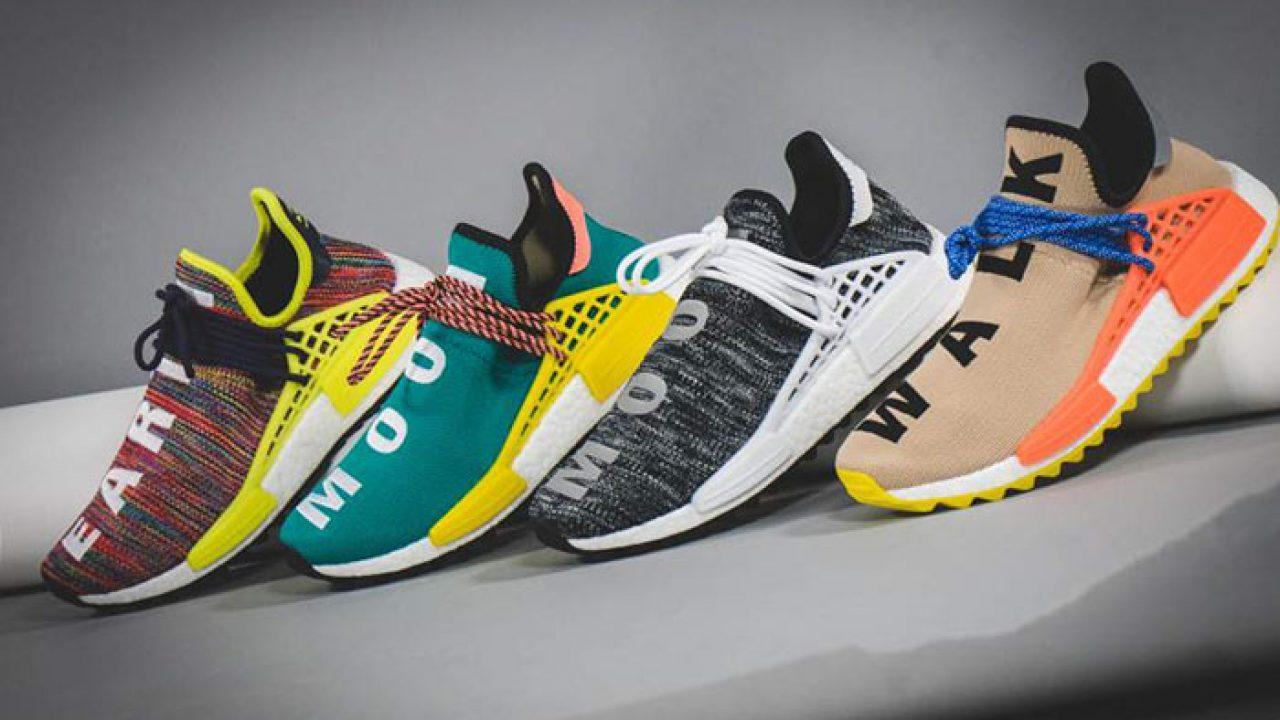adidas NMD Hu Trail Schwarz Pharrell Williams AC7359