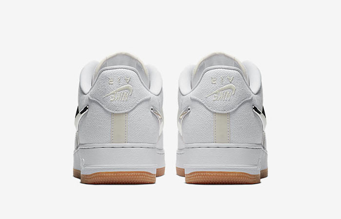 Travis Scott Nike Air Force 1 Low White Aq4211 100