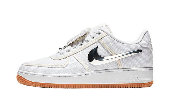 best cheap 0833f 3b8ee Travis Scott Nike Air Force 1 Low White AQ4211-100 – Fastsole