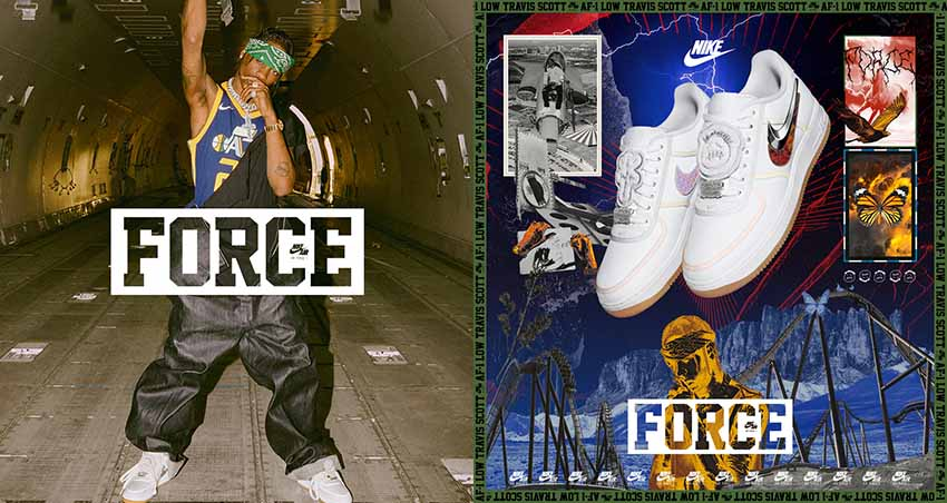 Travis Scott x Nike Air Force 1 Low Releasing this December 03
