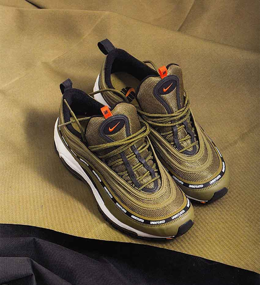 on sale cafb4 595ca Undefeated x Nike Air Max 97 Olive for Complex Con 02