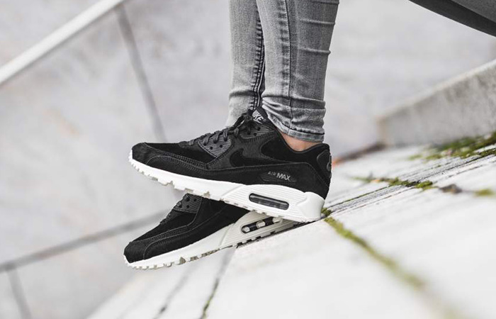 newest collection 8237c a28ab Wmns Nike Air Max 90 LX Black White 898512-006