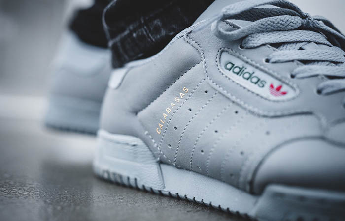 8128b52eafb57 ... Yeezy Powerphase Calabasas Grey CG6422 Buy New Sneakers Trainers FOR  Man Women in United Kingdom UK ...