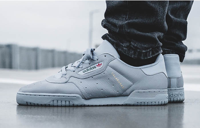 Yeezy Powerphase Calabasas Grey CG6422 Buy New Sneakers Trainers FOR Man Women in United Kingdom UK Europe EU Germany DE 04