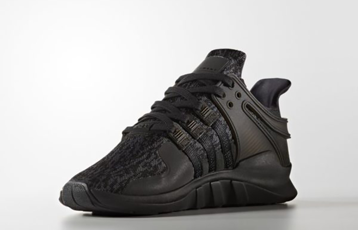 size 40 6971d 5b62d adidas EQT Support ADV Triple Black BY9589
