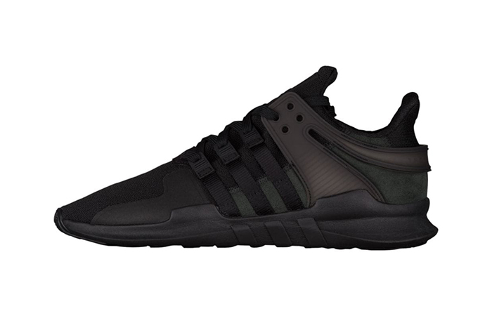 size 40 7a1c7 1d948 adidas EQT Support ADV Triple Black BY9589