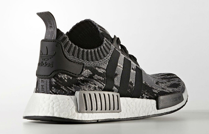 2fe57840edaf8 ... adidas NMD R1 Primeknit Glitch Camo Black Grey BZ0223 Sneakers Trainers  FOR Man Women in UK