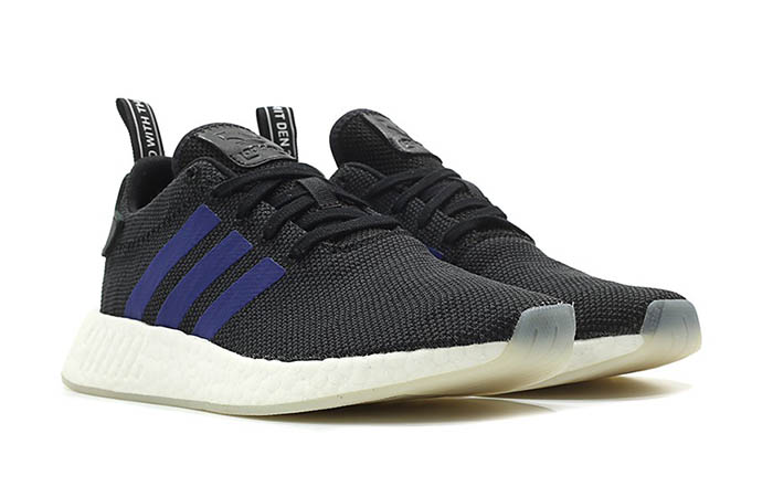 d79c3856fc970 adidas NMD R2 Boost Black Blue Womens CQ2008 Buy New Sneakers Trainers FOR  Man Women in ...
