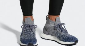 7ef7a343fca31 adidas Ultra Boost ATR Grey Navy BB6128 Sneakers Trainers FOR Man Women in UK  EU FR ...