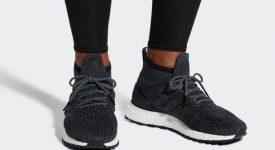3f032c4ddd822 adidas Ultra Boost Mid ATR Black White BB6218 Sneakers Trainers FOR Man  Women in UK EU ...