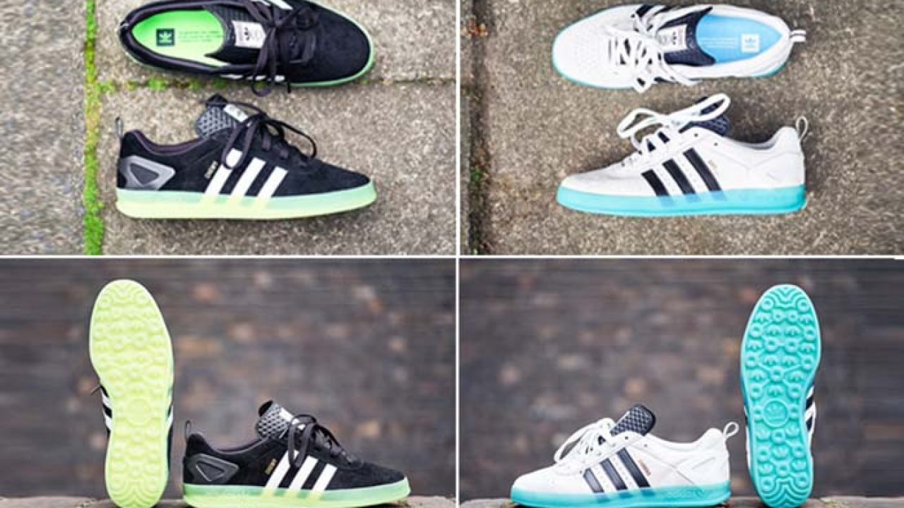 Adidas x Palace Pro 'Chewy' Shoes Black White Green