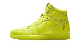 Air Jordan 1 Gatorade Cyber Yellow Lime AJ5997-345 Buy New Sneakers Trainers FOR Man Women in United Kingdom UK Europe EU Germany DE 04