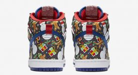 Concepts Nike SB Dunk High Ugly Sweater Christmas 881758-446 Buy New Sneakers Trainers FOR Man Women in United Kingdom UK Europe EU Germany DE 01