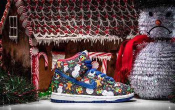 Concepts Nike SB Dunk Ugly Christmas Sweater in Details Buy New Sneakers Trainers FOR Man Women in United Kingdom UK Europe EU Germany DE 01