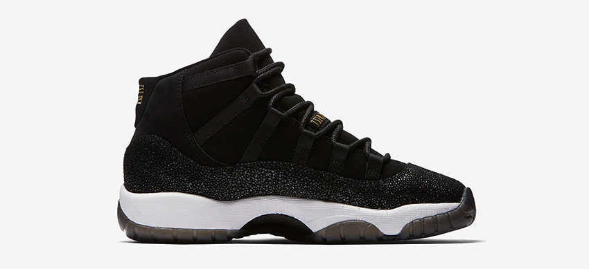4b23a18b05af First Look at the Air Jordan 11 PRM Heiress Black Stingray 852625-030  Sneakers Trainers