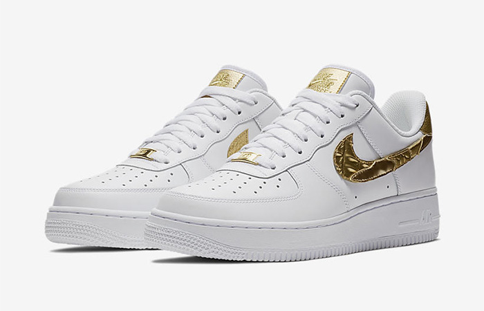 Nike Air Force 1 CR7 Golden Patch AQ0666-100 Buy New Sneakers Trainers FOR Man Women in United Kingdom UK Europe EU Germany DE 02