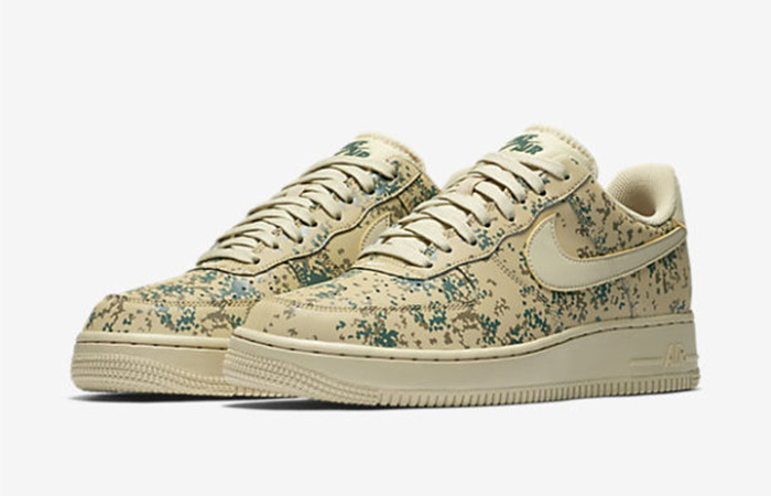 Nike Air Force 1 Camo Beige 823511-700 Buy New Sneakers Trainers FOR Man Women in United Kingdom UK Europe EU Germany DE 03